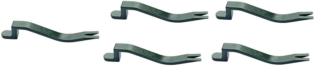 PacTool International RS501 Roof Snake, Shingle Nail Puller, Roof Shingle Installer (5-(Pack))