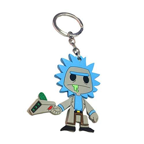 (Opopark New Lady Deadpool Wanda Wilson Soft Rubber Key Chain Key Ring(H03))