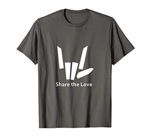 Cute Fingers share love gift T-shirt for Kids