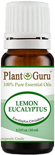 Lemon Eucalyptus Essential Oil 10 ml 100% Pure Undiluted The
