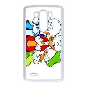 LG G3 Cell Phone Case White Disney Donald's Nephews Character Dewey 001 HY2394018