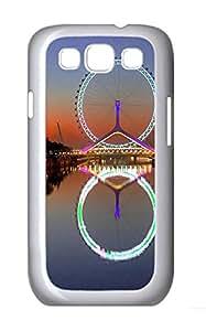 Samsung S3 Case Ferris Wheel Tianjin China PC Custom Samsung S3 Case Cover White