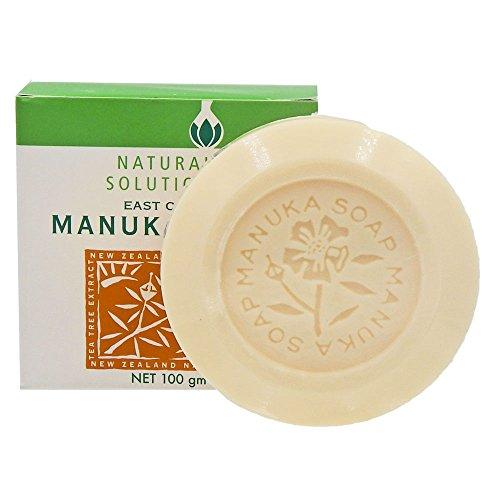 Natural Solutions East Cape Te Araroa Manuka Oil and Tea Tree Oil Soap