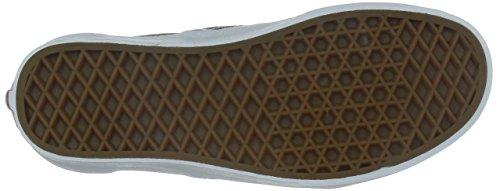 VANS - CLASSIC SLIP ON - Van Doren Black 80's Lips Grey/Multi