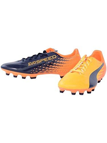 Puma Evospeed 17.2 AG, Scarpe da Calcio Uomo dunkelblau - orange