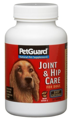 Pet Guard Joint and Hip Care for Dogs, 30-Count Chewable Tables