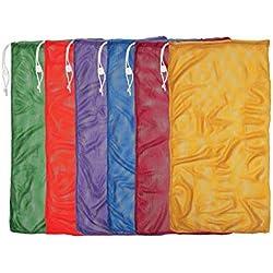Champion Sports Mesh Equipment Bag (Set of 6)