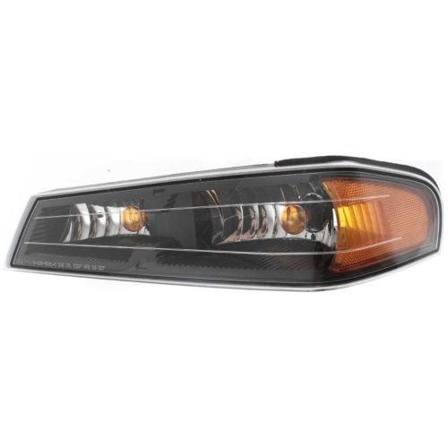 Make Auto Parts Manufacturing - DRIVER SIDE FRONT PARKING/SIGNAL LIGHT ASSEMBLY; EXCEPT EXTREME MODEL - GM2520189