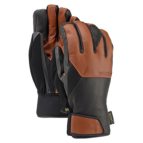 Burton Gondy Gore-Tex Leather Gloves, True Penny, (Burton Leather Glove)
