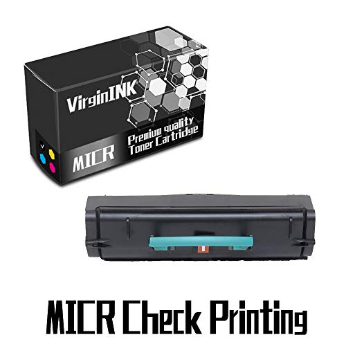 VirginInk D1710 Series MICR Check Printing Toner Cartridge Replacement for Dell 1710 1710N Printers(6,000 Page-Yield, 1 Black) ()