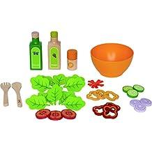 Hape Garden Salad Wood Play Kitchen Play Set