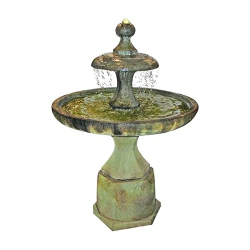 (Henri Studio 4 Piece Plateau Fountain, Relic Sargasso)