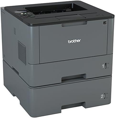 Brother Monochrome Laser Printer, HL-L5200DWT, Duplex Printing, Wireless Networking, Dual Paper Trays, Mobile Printing, Amazon Dash Replenishment Ready 41tqdOQQfdL
