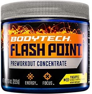 BodyTech Flash Point Pre Workout Concentrate