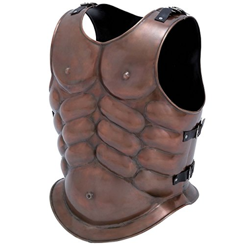 Thor Breastplate Costume (Replica Display Roman Legion Muscle Cuirass Metal Breastplate Armor)