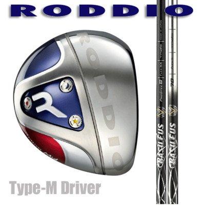 RODDIO ドライバー Type-M バシレウス Z60 ブラック B01BLXY6PY  SR