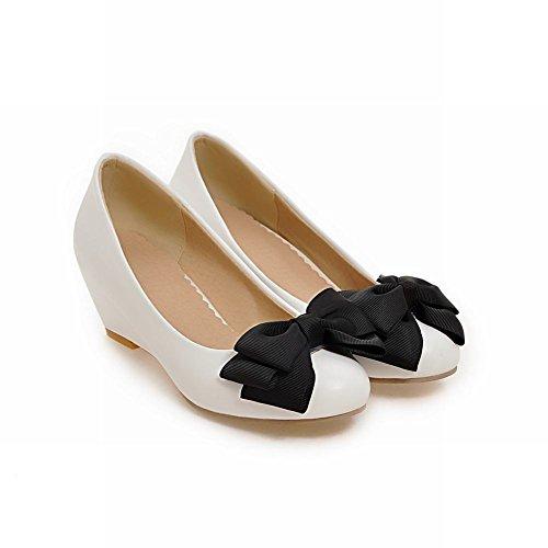 Mee Shoes Damen Niedrig Slip on Schleifen Pantoffeln