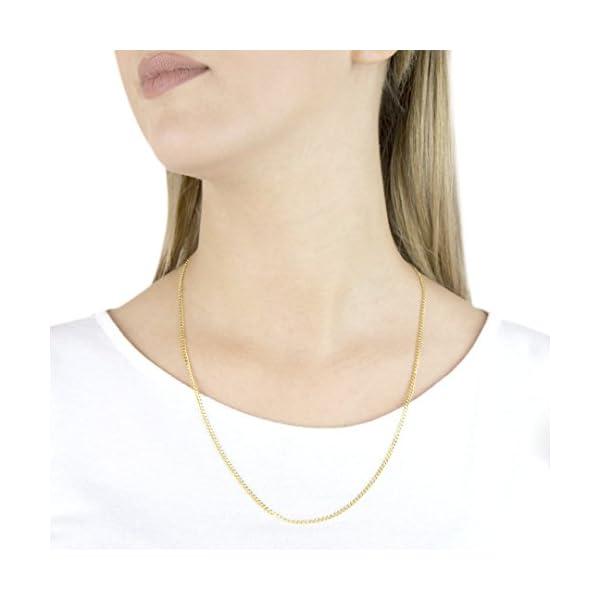 Carissima Gold Collar de unisex con oro amarillo de 9 K (375) Carissima Gold Collar de unisex con oro amarillo de 9 K (375) Carissima Gold Collar de unisex con oro amarillo de 9 K (375)