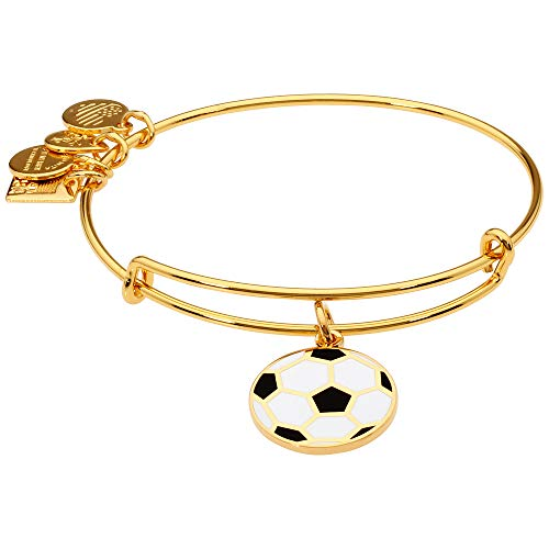 Anklet Soccer (Alex and Ani Women's Team USA Soccer Bangle Gold-Tone One Size)