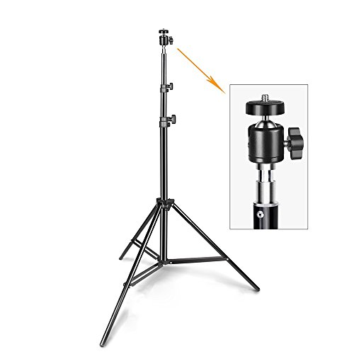 8.5 Feet/260 CM Photography Light Stands With Mini Ball Head Mount For Reflectors, Softboxes, Lights, Umbrellas, Photo studio