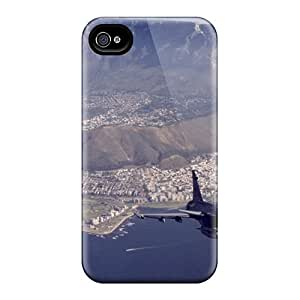 Dsorothymkuz Premium Protective Hard Case For Iphone 4/4s- Nice Design - Two Fighters