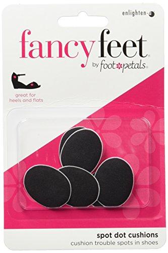 - Fancy Feet Women's Spot Dot Cushions, Black