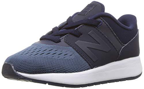 New Balance baby-boys 24v1 Sneaker, Vintage Indigo, 2 M US Infant