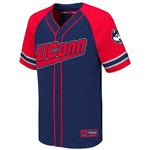Youth UConn Connecticut Huskies Wallis Baseball Jersey for sale  Delivered anywhere in USA