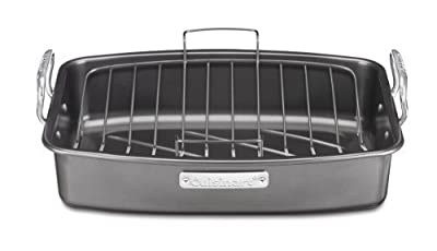 Cuisinart ASR-1713V Ovenware Classic Collection 17-by-13-Inch Roaster with Removable Rack, Garden, Lawn, Maintenance
