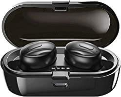 Bluetooth Kopfhörer Kabellos In Ear, Wireless Earbuds Integriertem Mikrofon, 15 Std. Laufzeit, IPX5 Wassersdicht, Sport...