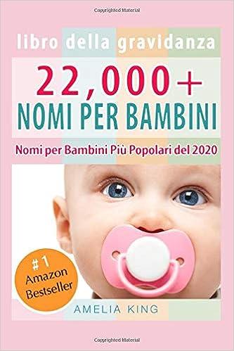 Libro Della Gravidanza: 22,000+ Nomi per Bambini Nomi ...
