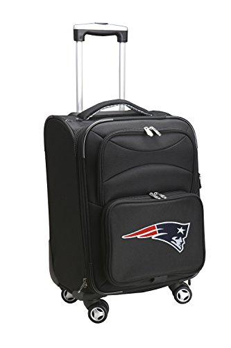 Denco NFL New England Patriots Domestic Carry-On Spinner, 20-Inch, Black from Denco