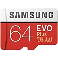 Samsung  64GB MicroSDXC EVO Plus Memory Card w/ Adapter...
