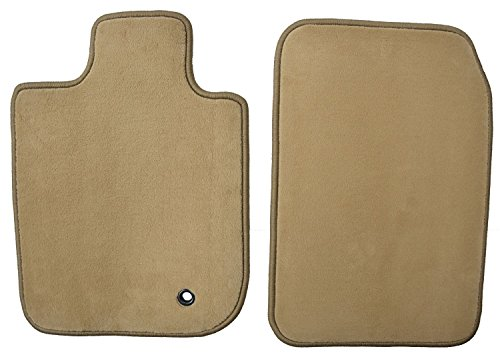 GG Bailey D3336A-F1A-BGE Front Set Custom Fit Floor Mats For Select Jaguar S-Type Models - Nylon Fiber (Beige) by GG Bailey
