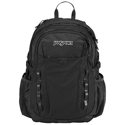 JanSport Mens Outdoor Mainstream Ashford Backpack - Black / 18.5
