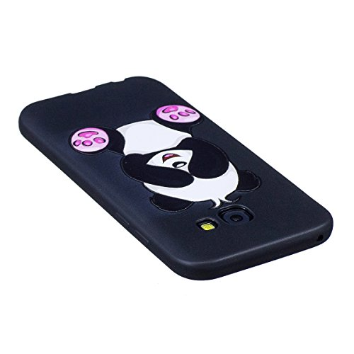 Funda Samsung Galaxy A5 2017,SainCat Moda Alta Calidad suave de Relieve Pintura TPU Silicona Suave Funda Carcasa Caso Parachoques Diseño pintado Patrón para Carcasas Samsung Galaxy A5 2017 TPU Silicon Panda