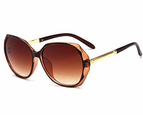 Estilo Trend ash Frog para Care y Gafas c1 Mirror Americano de de Gafas bright black Violet Sol Mujer Estilo RDJM Europeo c7 Irregular Sol full SqxU6ZXwxt