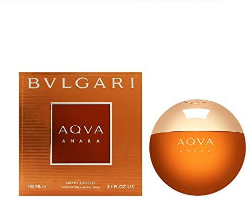 Bvlgari Aqva Amara Eau de Toilette Spray for Men, 3.4 Ounce