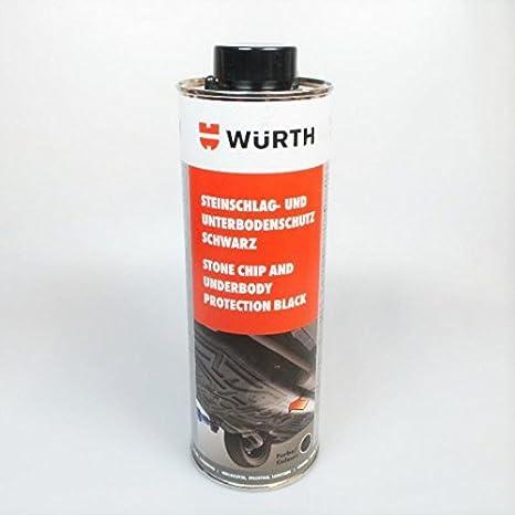 3 x Würth contra impactos en la parte inferior del protector de colour negro (4052703194957 1000 ml: Amazon.es: Bricolaje y herramientas