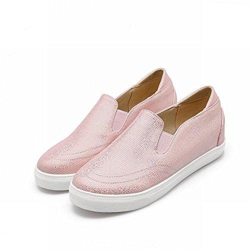 Show Pink Show Shoes Flats Fashion Shine Womens Shining Shine Bungee CzRrzwq45x