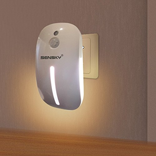 Sensky Plug in Motion Night Light Skl001 Motion Activated LED Lights for Bedroom, Staircase, (Motion Sensor Night Light)