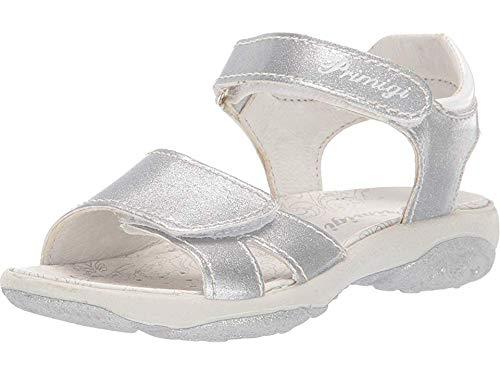Primigi Kids Sandals - Primigi Kids Baby Girl's PBR 33889 (Toddler/Little Kid) Silver 30 M EU