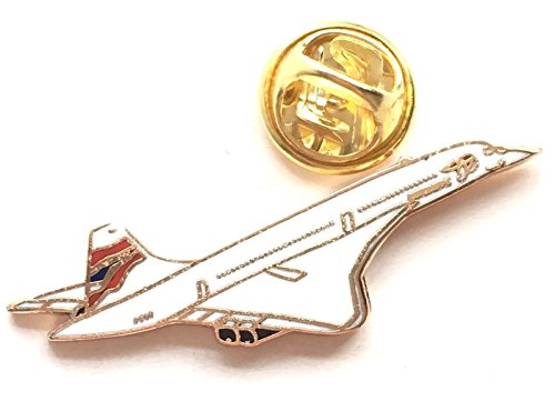 Concorde Jet (British Airways Concorde Passenger Jet Enamel Badge)