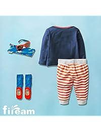 Conjuntos de ropa de manga larga para niños y niños de Fiream Conjuntos de algodón