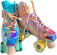 Roller Skate Toe Guards - PU Leather Toe Cap Guard Protectors - Roller Skating Cap Protection - Quad Roller Sk