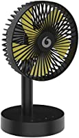 卓上扇風機 充電式 タイマー機能&自動首振り 扇風機 小型 usbファン 自動首振り可超静音 超強風力 風量3段階調節 4段階タイマー設定可 ミニ扇風機 節電/省エネ 熱中症対策 自宅/オフイス用