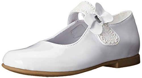 Rachel Shoes Laurel 2 Mary Jane , White Patent, 6 M US Toddl