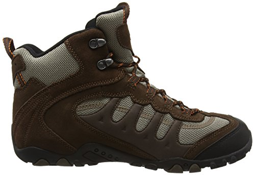 88c3f47ceb997 Hi Tec Mens Mens Penrith Mid Lace up Suede Waterproof Walking Boot Brown  Suede