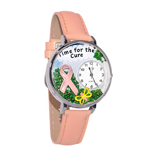 Whimsical Unisex U1110001 Time for the Cure Pink Leather ...