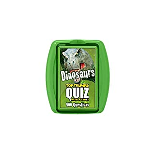 Dinosaur Top Trumps Quiz Game